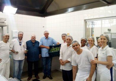 Produtores rurais realizam primeira entrega de alimentos em universidade por meio do PPAIS
