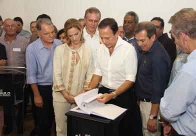 Governador assina autorizo para continuidade de trabalhos de regularização fundiária na região de Presidente Prudente