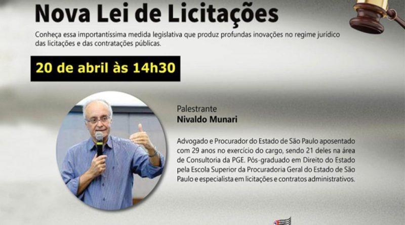Escola de Governo promove live sobre sobre a Nova Lei de Licitações nesta terça-feira (20)
