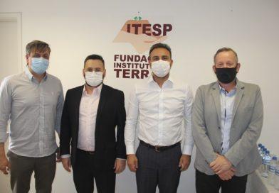 Fundação Itesp trata regularização fundiária com prefeito de Fernandópolis