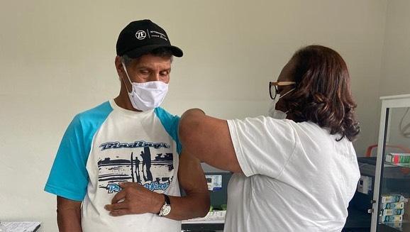Fundação Itesp participa de aplicação da terceira dose da vacina na comunidade de Ivaporunduva